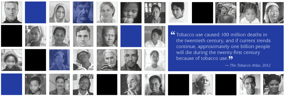 death from tobacco quote