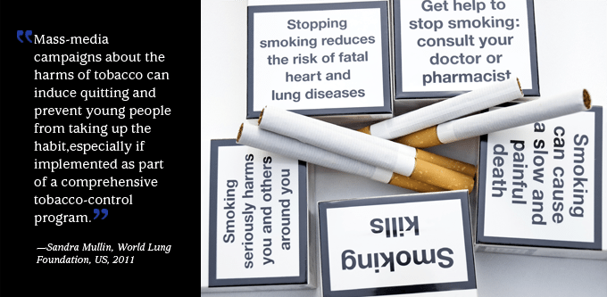 tobacco warning labels and counter marketing