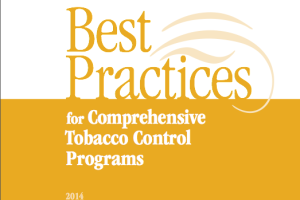 cdc best practices for comprehensive tobacco control